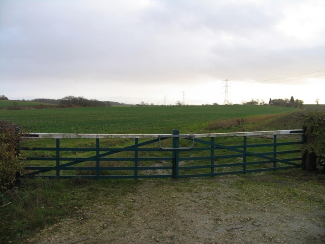 Southwards from Marefield Lane