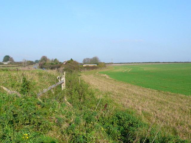 Fields near Lincoln Farm