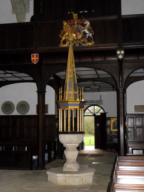 Font, St Giles Church