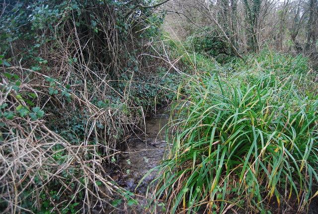 Small tributary of the River Bride