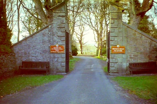 Gate to Glamis Castle