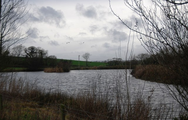 Lake at Lower Kingston Russel Farm