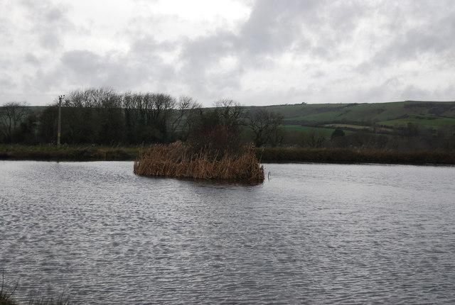 Lake at Lower Kingston Russell Farm