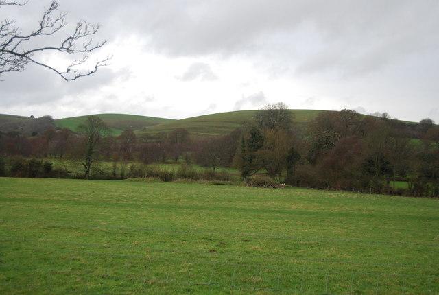 Farmland in the Bride Valley