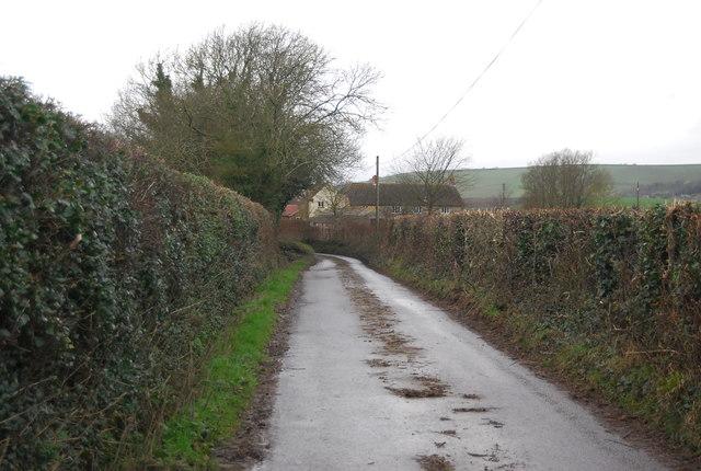 Lane to Long Bredy Farm