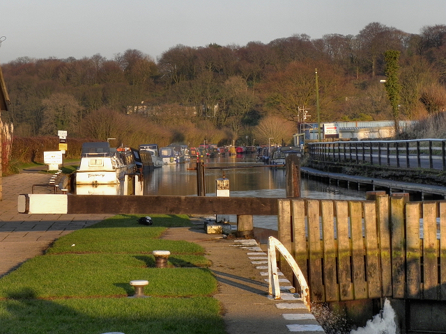 Leeds and Liverpool Canal, Lower Copthurst