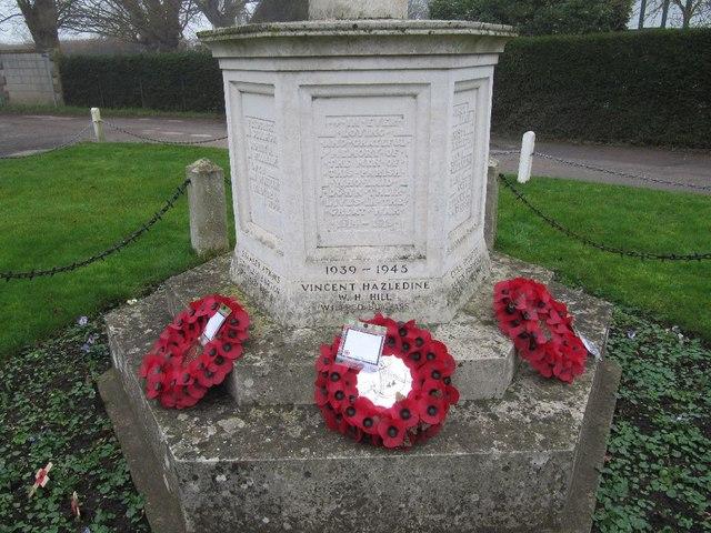Wreaths around the base