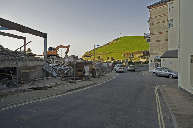 Mill Head, Capstone Hill and a demolished Collingwood Hotel
