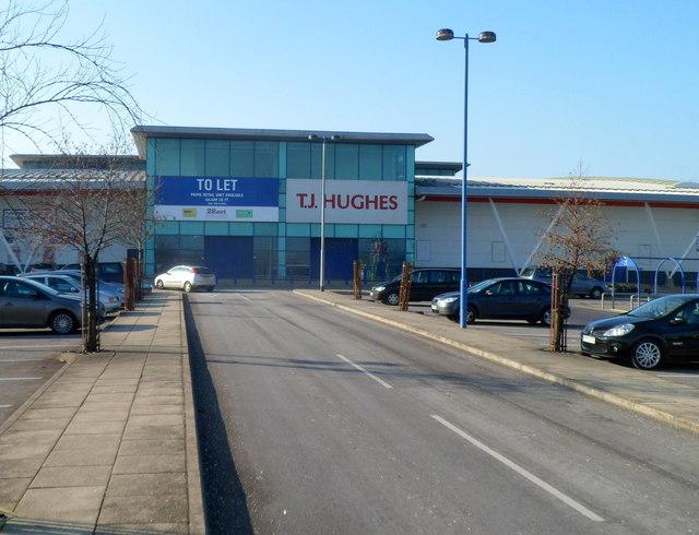 Former TJ Hughes premises to let, Newport