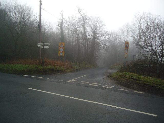 Lane to Yorks Hill