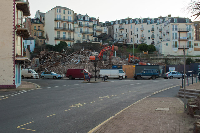 The Remains of the Collingwood Hotel