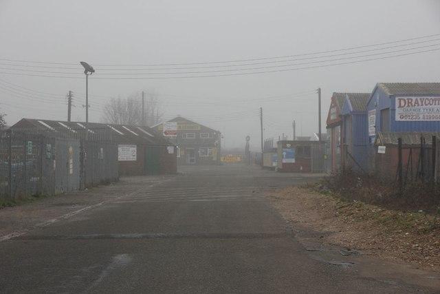 Richs Sidings on a misty morning