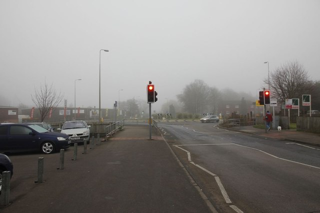 Traffic lights at the Roundabout