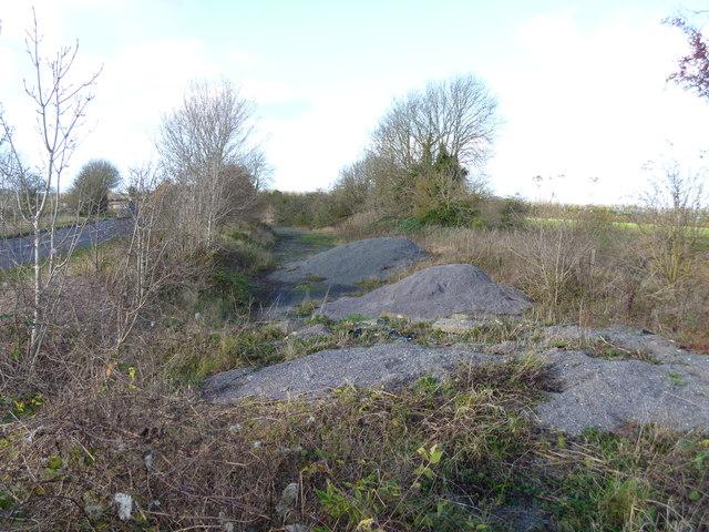 Stockpile of gravel