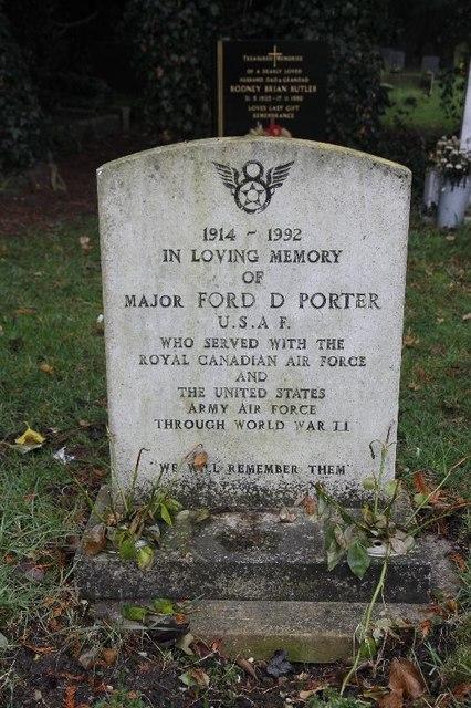 Major Ford D Porter