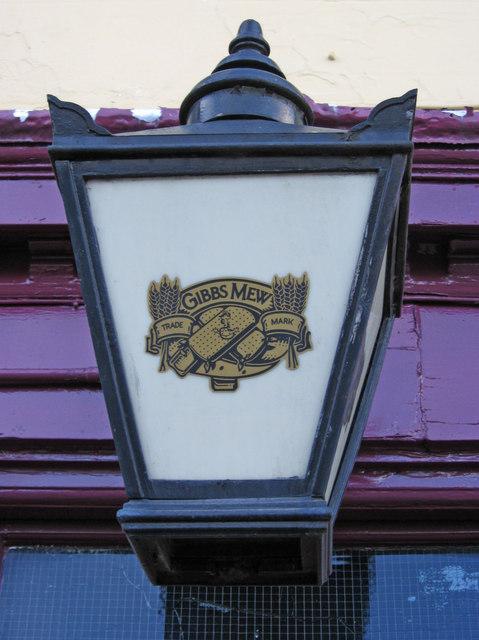 The Spotted Dog (2) - Gibbs Mew lamp, Meriden Street, Digbeth, Birmingham