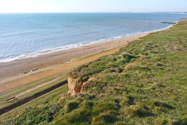 Cliff and Beach at Barton East