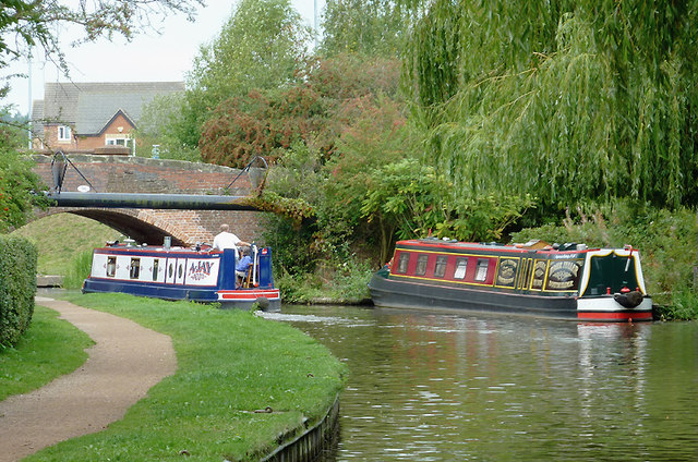 Trent and Mersey Canal near Stone, Staffordshire