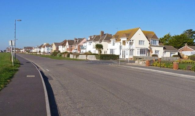 Houses on Marine Drive East