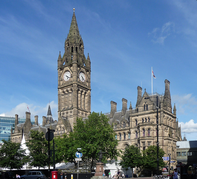 Town Hall, Albert Square, Manchester (1)