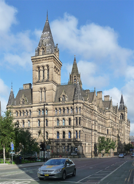 Town Hall, Albert Square, Manchester (2)