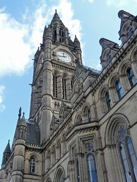 Detail of Town Hall, Albert Square, Manchester (1)