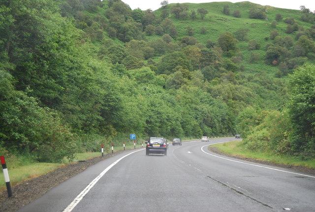 A82 northwards