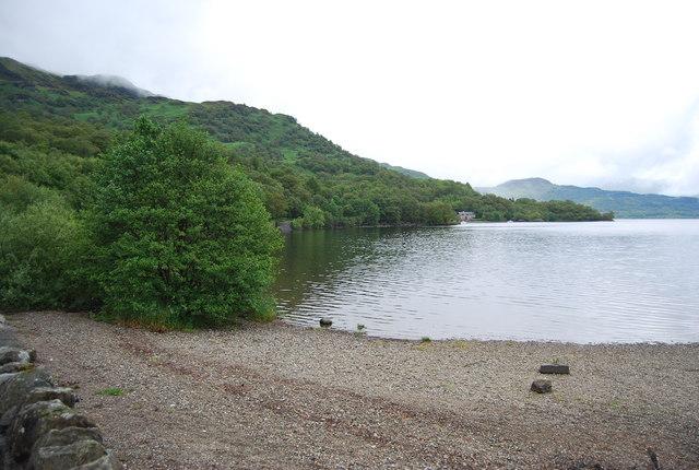 Loch Lomond shore, Firkin Point