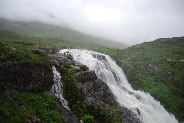 Lairig Eilde Waterfall
