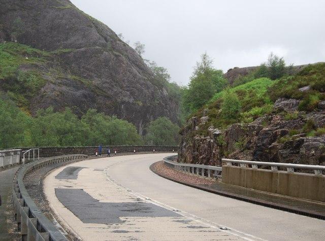 A82, top of Glencoe