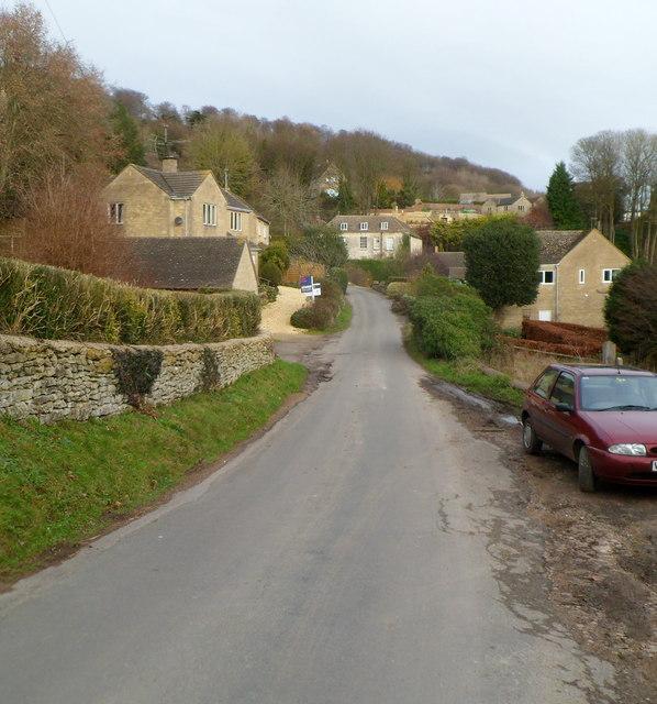 Steanbridge Lane, Slad