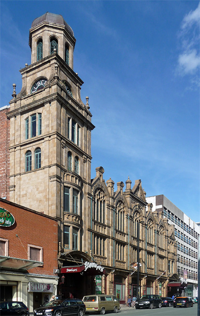 Albert Memorial Hall, Peter Street, Manchester