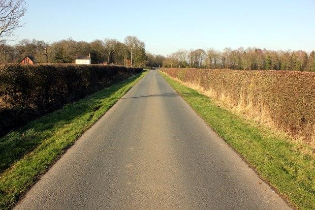 Lea Lane near Aldford