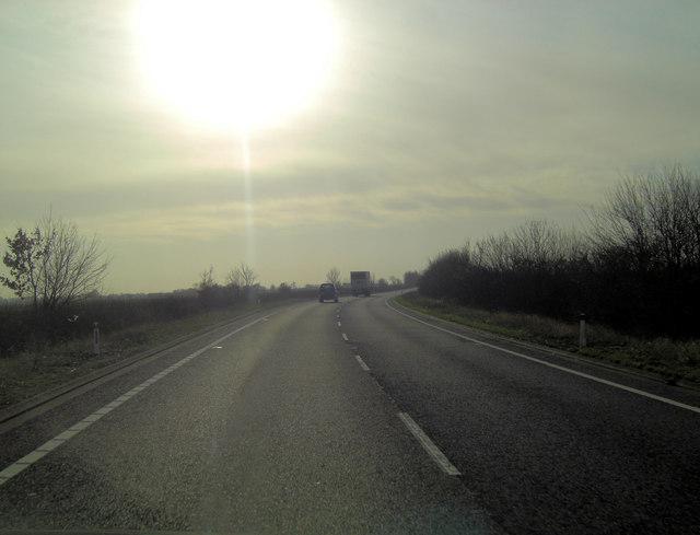 A2070 northeast of Brenzett Green