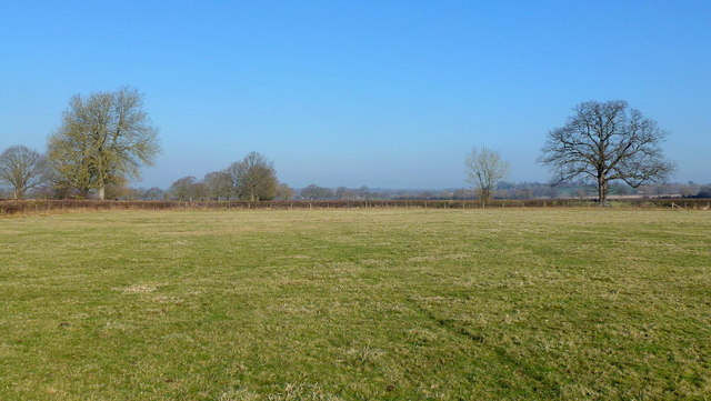 Pasture land north of Staunton on Wye