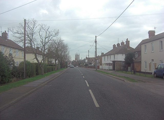 B2075 is Station Road in Lydd