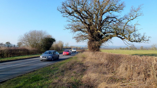A438 east of Willersley