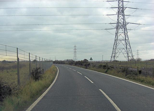 Jury's Gap road south of Pigwell