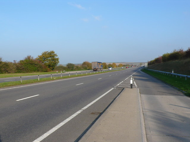 Layby on the A35