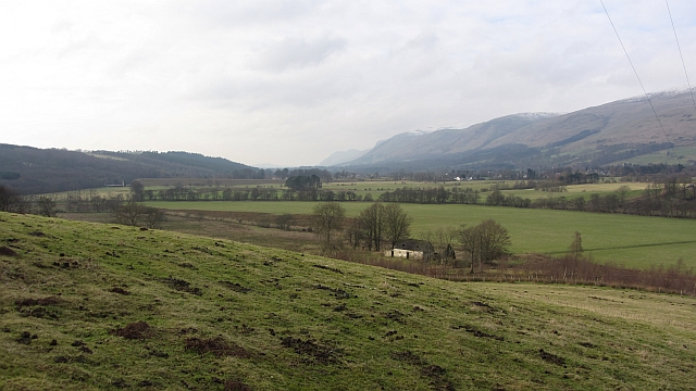 Pasture above Boghall