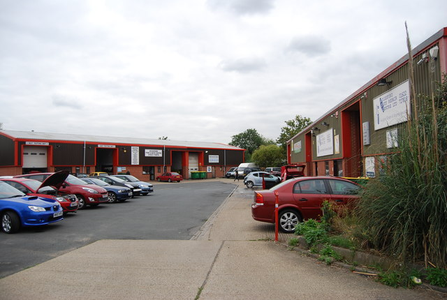Industrial units, Aylesford
