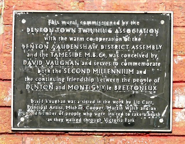 Denton Mural Information