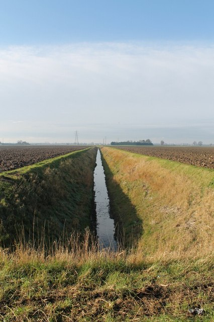 Drain off Wythes Lane