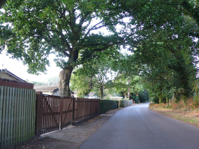Access Lane to Oaktree Park