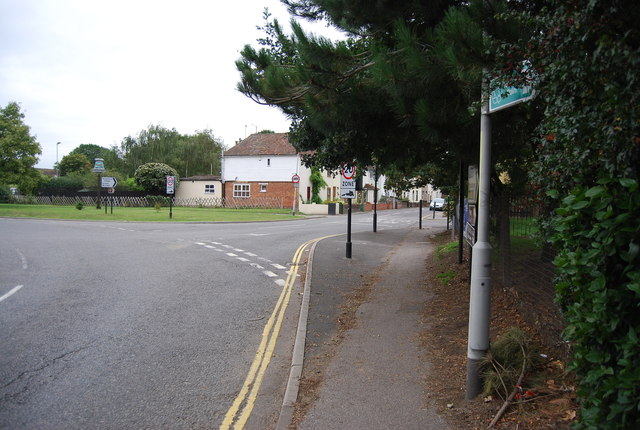 Entering Aylesford