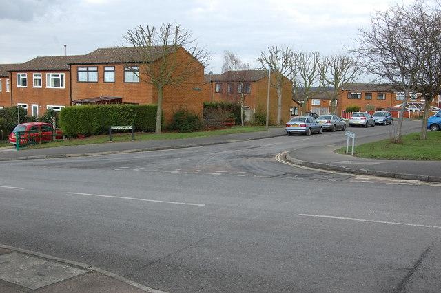Junction Sheepcote Road & Marrison Drive