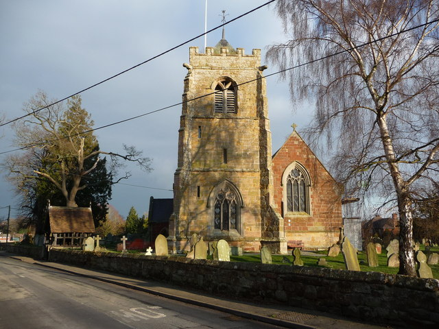 St. Peter's, Myddle parish church, Shropshire