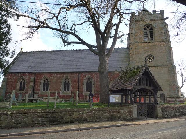 Myddle parish church