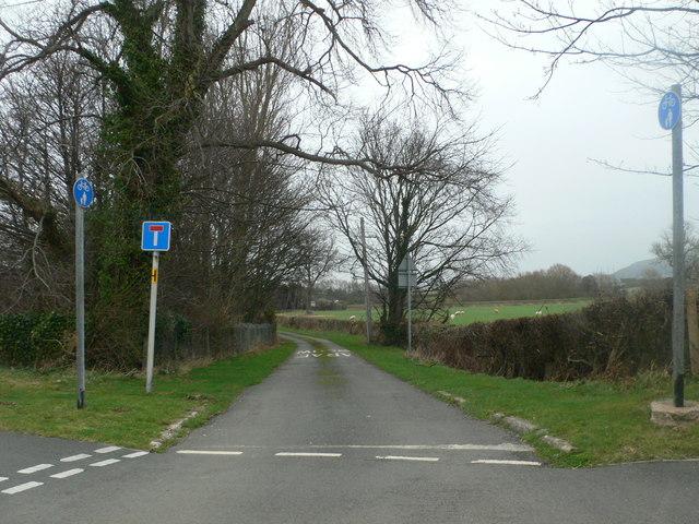 No through road - just to Rhydyddeuddwr
