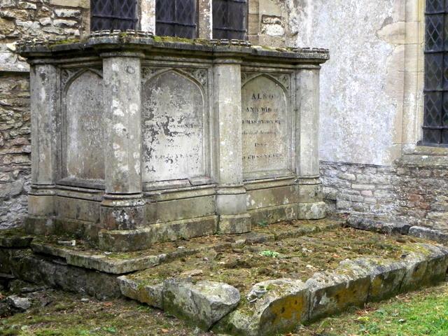 Tomb, St Peter's Church